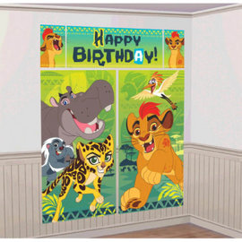 ©Disney The Lion Guard Scene Setters® Wall Decorating Kit- Clearance