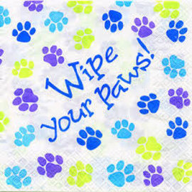 Party Pups Luncheon Napkin, 16ct- Clearance