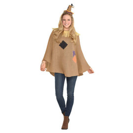 Scarecrow Poncho- Adult Standard