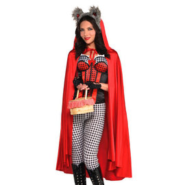 Red Riding Hood Cape- Mid Length