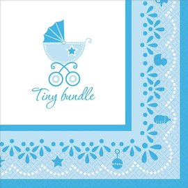 Celebrate Baby Boy Luncheon Napkins, 36ct