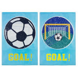 """Goal"" Magic Sequin Wall Art"