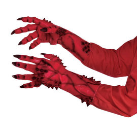 Devil Sculpted Hands- Adult