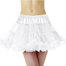 Full Petticoat White- Adult X-Large