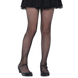 Black Fishnet Stockings- Child M/L