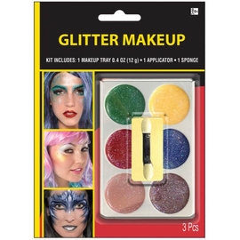 Multi Color Glitter Grease Make-Up