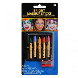 Bright Color Make-Up Sticks