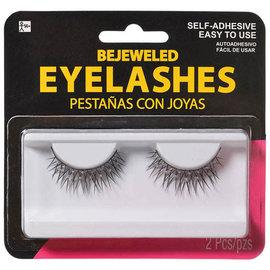 Bejeweled Eyelashes