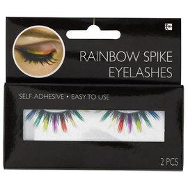 Rainbow Spike Eyelashes