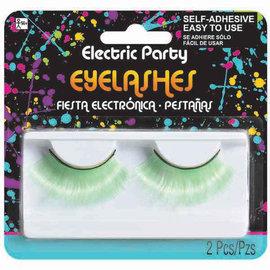 Neon Green Jumbo Eyelashes
