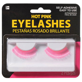 Hot Pink Eyelashes
