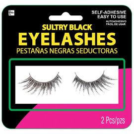 Sultry Black Eyelashes
