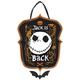 ©Disney Tim Burton's Nightmare Before Christmas Jack is Back Hanging Sign