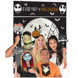 ©Disney Tim Burton's Nightmare Before Christmas Scene Setter® with Photo Props