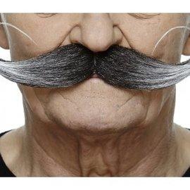 El Bandito Mustache- Grey