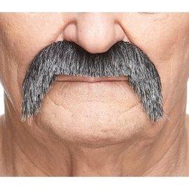 Poncho Villa Mustache- Grey