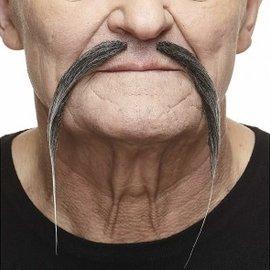Chinese Mustache- Grey