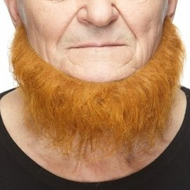 Chin Curtain Beard- Red