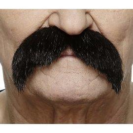The Walrus Mustache- Black
