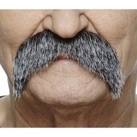 The Walrus Mustache- Grey