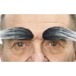 Bushy Eyebrows- Grey/White