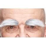 Bushy Eyebrows- White/Grey