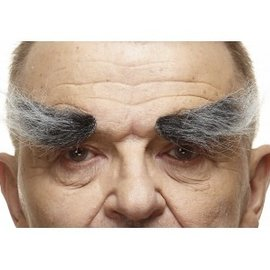 Villain Eyebrows- Grey/White