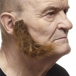 L-Shaped Mutton Chops- Brown
