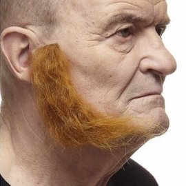 L-Shaped Mutton Chops- Red