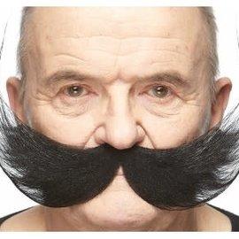 Fisherman Mustache- Black