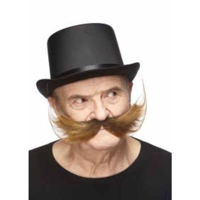 Fisherman Mustache- Brown