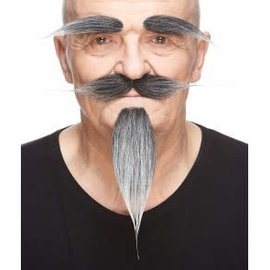 Russian Mustache with Beard and Eyebrows