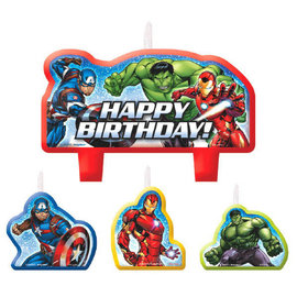 Marvel Epic Avengers™ Birthday Candle Set