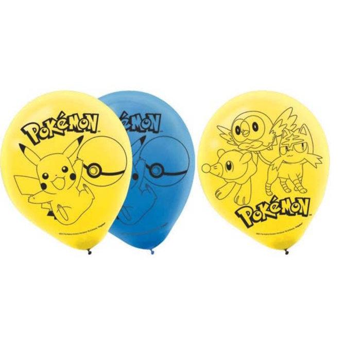 Pokemon™ Latex Balloons