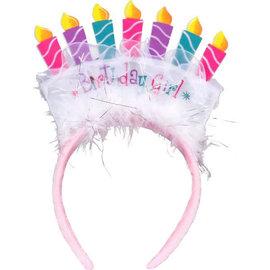 Birthday Girl Tiara Headband