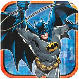 "Batman™ Square Plates, 9""-8ct"