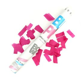 Gender Reveal Confetti Cannon- Pink
