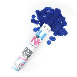 Gender Reveal Confetti Cannon- Blue