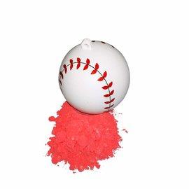 """Gender Reveal 4"""" Baseball 2pk- Pink"""