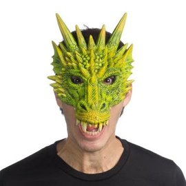 Supersoft Fantasy Dragon Mask- Gallantly Green