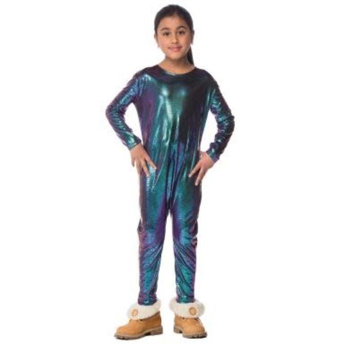 Stretchy Dragon Bodysuit- Junior- Medium