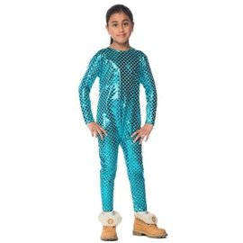 Stretchy Mermaid Bodysuit Junior- XL