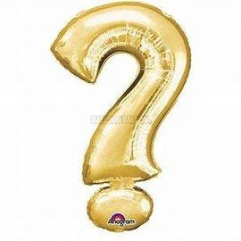 "16"" Question Mark Symbol- Gold"