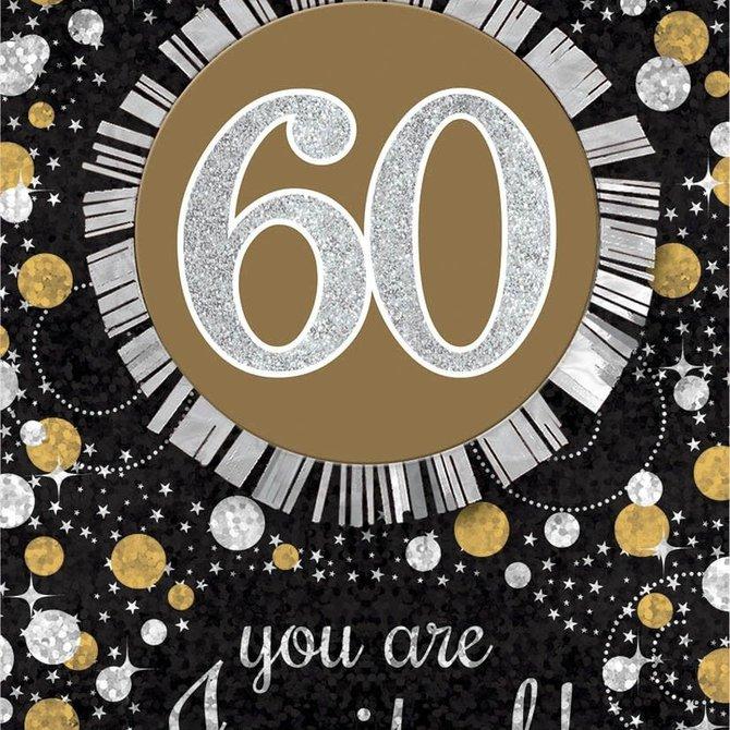 Sparkling Celebration 60 Invitations, 8ct