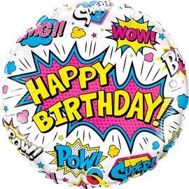 """Super Hero Birthday, 18"""" (#286)"""