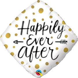 "Happily Ever After Balloon, 18"" (#39)"