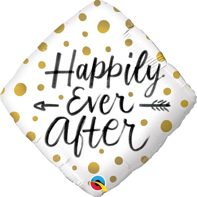 Happily Ever After Balloon, 18""