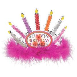 Light Up Birthday Candle Tiara