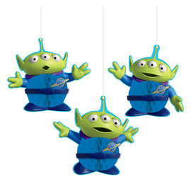 ©Disney/Pixar Toy Story 4 Honeycomb Decorations -3ct