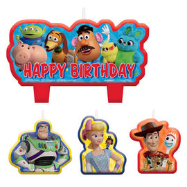 ©Disney/Pixar Toy Story 4 Birthday Candle Set -4ct